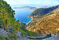 The Observing Terrace In Garden Of Eze Royalty Free Stock Photo - 92767365