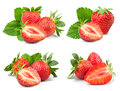Strawberry  On White Stock Image - 92789321