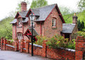 Red Brick English Village House Royalty Free Stock Photography - 9288927