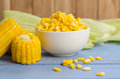 Corn On The Table Stock Image - 92810011