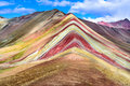 Vinicunca, Rainbow Mountain - Peru Stock Photo - 92856560
