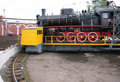 Steam Locomotive In Museum By Side Stock Photography - 9297512
