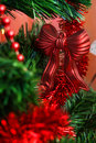 Christmas Toy On Branch Stock Photo - 9298750