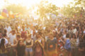 People Enjoying Live Music Concert Festival Royalty Free Stock Image - 92937816