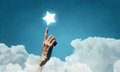 Reach And Touch The Star Stock Photo - 92959250