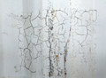 Crack Metal Background With Old Layers Of White Paint. Texture Rusted Shipping Container. Stock Photography - 92973542
