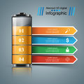 Business Infographics. Battery Icon. Stock Photos - 92978993