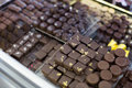 Collection Of Chocolates With Different Fillings At Tea-room Stock Photos - 92991823