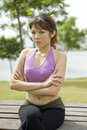 Fitness Series Resting Stock Photos - 9304343