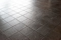 Ceramic Tile Surface, Floor, Dark Stone Pattern. Stock Photography - 93007032