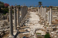 Ruins Of The Roman City In Tyre Royalty Free Stock Images - 93011279