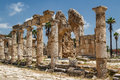 Ruins Of The Roman City In Tyre Royalty Free Stock Images - 93011369