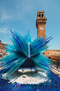 Bell Tower On Murano Island Ice Royalty Free Stock Photo - 93019055