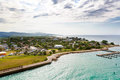 Falmouth Port In Jamaica Island, The Caribbeans Stock Photo - 93027040