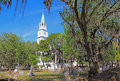 The Anglican Parish Church Of Saint Helena In Beaufort, South Ca Royalty Free Stock Photos - 93033898
