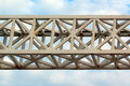 Old Painted Metal Truss Royalty Free Stock Photos - 93034668
