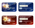 Credit Card With Chip Icons Royalty Free Stock Image - 93044756