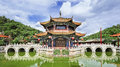 Panoramic View On Yuantong Temple, Kunming, Yunnan Province, China Stock Photos - 93076813