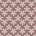 Seamless Pattern With Flower Element. Brown And Beige Abstract Wallpaper Stock Photo - 93090940