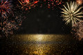 Abstract Holiday Firework Background. Stock Images - 93094424