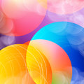 Abstract Overlay Circle Background With Circles. Vector. Stock Photo - 93112180
