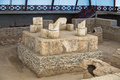 Ruins Of A Roman Emperor Tomb At Viminacium Archeological Site Near Danube River Royalty Free Stock Photography - 93143117