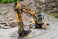 Heavy Machinery In Quarry Stock Image - 93157291
