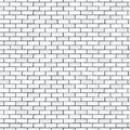White Seamless Brick Wall, Pattern Stonework Background Royalty Free Stock Images - 93169159