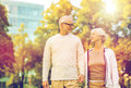 Senior Couple In City Park Royalty Free Stock Photography - 93173727
