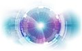 Abstract Digital Technology Connection On Earth Concept Background, Vector Illustration Royalty Free Stock Image - 93197986