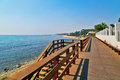 Wooden Path On The Beach Royalty Free Stock Photo - 93248815