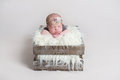 Sweet Cute Baby Girl Sleeping On Her Belly Royalty Free Stock Photo - 93281215