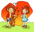 A Sweet Serenade Royalty Free Stock Photography - 9339847