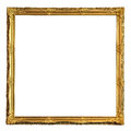 Square Decorative Golden Picture Frame Royalty Free Stock Images - 93303529
