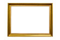 Rectangle Decorative Golden Picture Frame Royalty Free Stock Image - 93303566