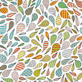 Hand Drawn Abstract Seamless Pattern In Memphis Style. Vector Colorful Bright Colors On White Background. Stock Photography - 93313102