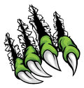 Monster Claws Ripping Scratching Background Stock Photography - 93335182