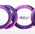 Modern 3d Geometrical Style Background, Arch Circular Lines Royalty Free Stock Photos - 93357098