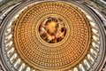 US Capitol Dome Interior Royalty Free Stock Images - 93374829