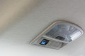 Car Ceiling Lamp And Switch Air For Background Stock Photo - 93381440