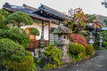 Small House In The Park In Japanese Traditional Style, Hakone, Japan Stock Photos - 93385643