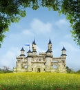 Romantic Fantasy Castle Royalty Free Stock Images - 93402059