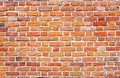 Brick Wall With Red, Orange And Yellow Colored Bricks Stock Photo - 93415520