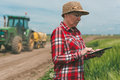 Smart Farming, Using Modern Technology In Agricultural Activity Royalty Free Stock Image - 93420766