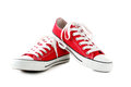 Red Sneakers Stock Photography - 93429922