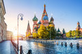 St. Basil`s Cathedral On Red Square Royalty Free Stock Image - 93440146