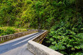 Famous Road To Hana Fraught With Narrow One-lane Bridges, Hairpin Turns And Incredible Island Views, Maui, Hawaii Stock Photography - 93448932