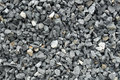 Aggregate Of Coarse Gray Stones, Crushed At A Stone Pit, Gravel Pattern Stock Images - 93484724