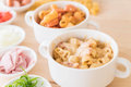 Macaroni Cheese And Ham Royalty Free Stock Image - 93536326