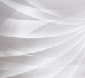 Abstract White Background Design With Curved Lines Or Stripes In Transparent Block Layers In Modern Contemporary Geometric Illustr Royalty Free Stock Image - 93577456